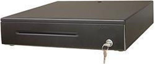 Pokl.zásuvka PZ1202, černá, včetně kabelu 12V, kovové držáky bankovek