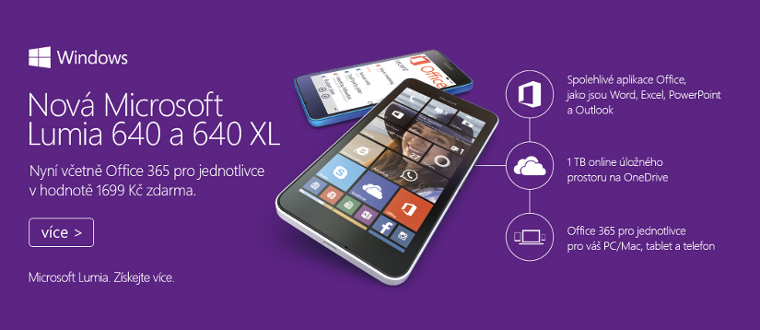 Lumia 640 + Office