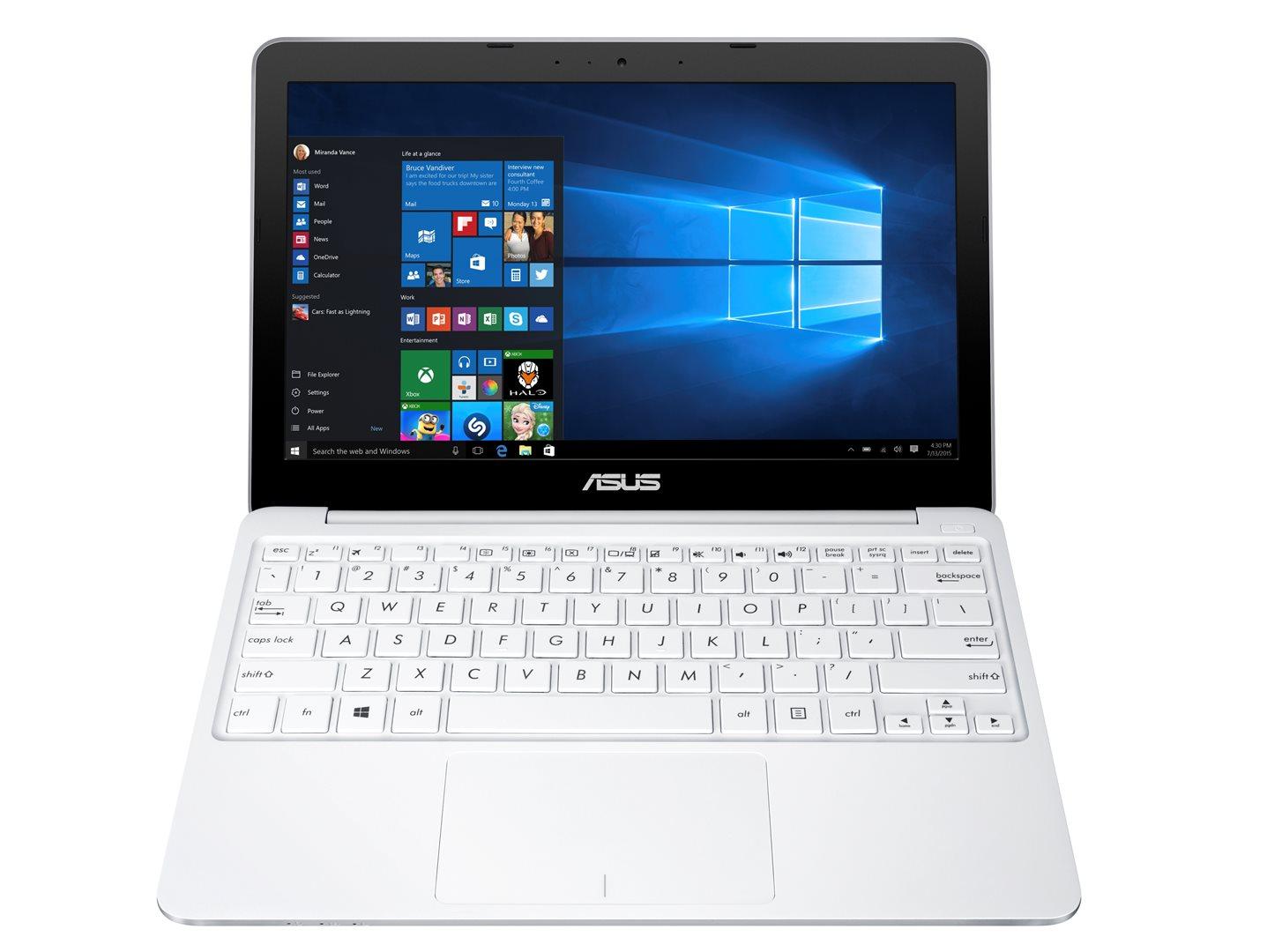 ASUS E200HA 11,6/x5-Z8300/32GB/2G/Win10, bílý