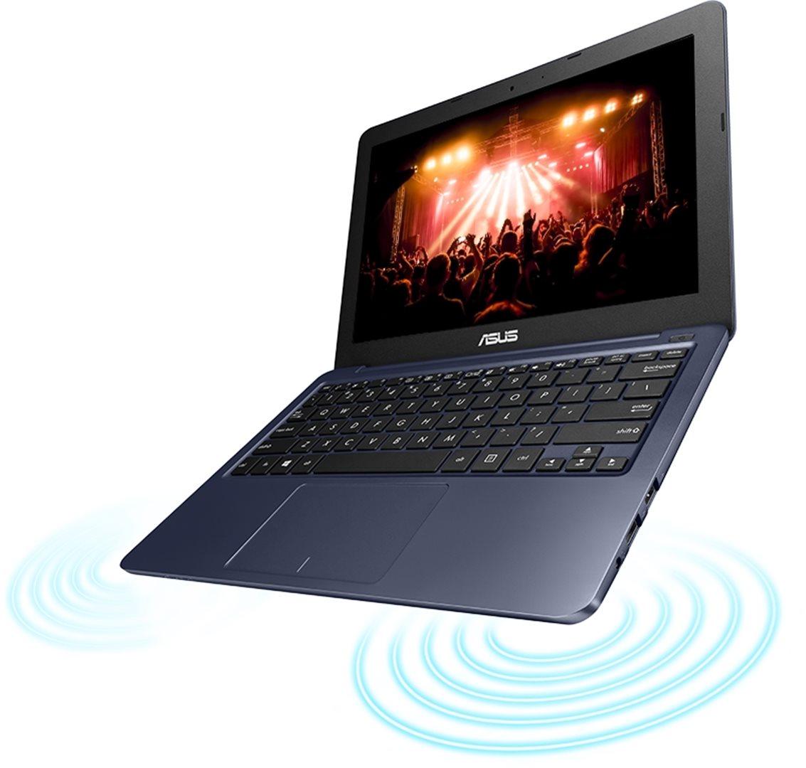 ASUS E202SA 11,6/N3050/500GB/4G/B/Win 10, modrý