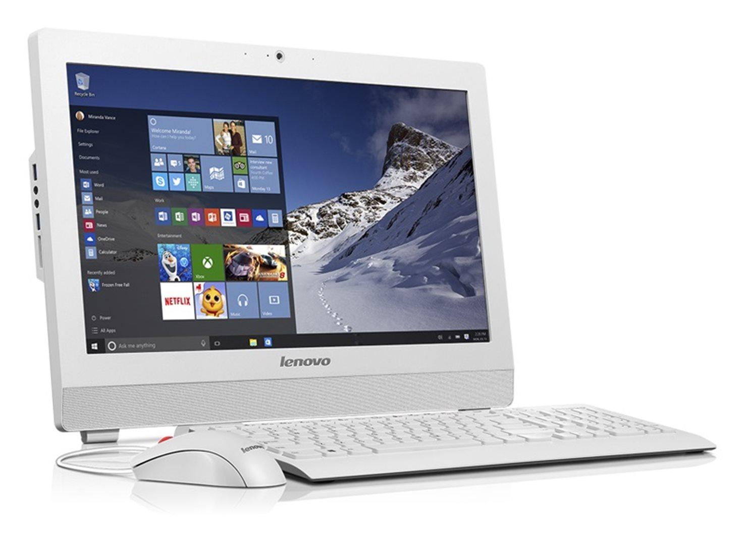 """AIO S200z 19.5""""/N3700/500GB/4GB/DVD/HD/Win 10 Home bílý"""